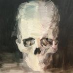 Adam Pyett - Skull (2006) 86.5 x 76.5cm